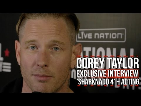 Slipknot's COREY TAYLOR will be in SHARKNADO 4