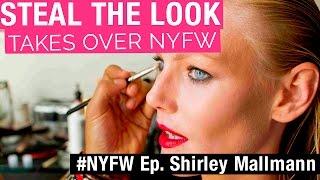 #StealTheLookTakesOverNYFW Shirley Mallmann: a primeira top brasileira a bombar no mundo da moda