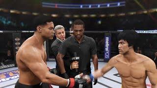 Muhammad Ali vs. Bruce Lee (EA Sports UFC 2) - CPU vs. CPU