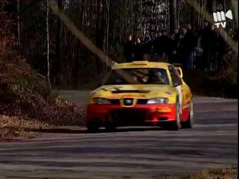 Janusz Kulig - Seat Cordoba WRC testy
