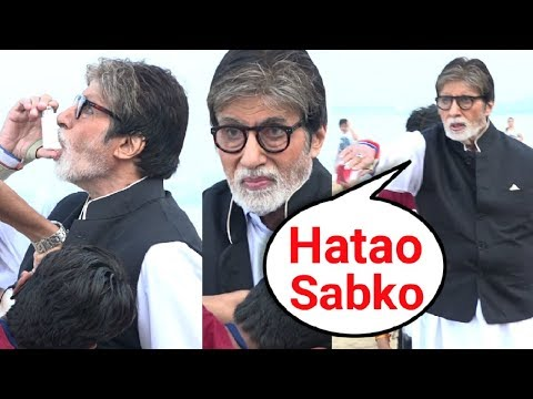 ANGRY Amitabh Bachchan Gets ASTHMA Attack While Shooting