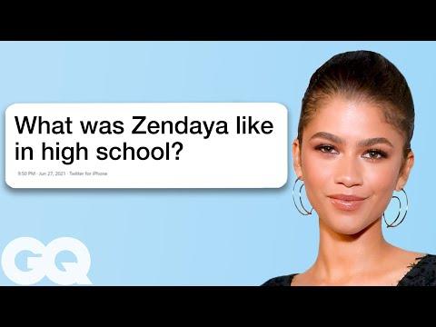 Zendaya Goes Undercover on YouTube, Twitter and Wikipedia   GQ