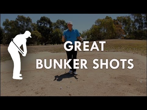 Golf – Great  Bunker technique !!..  The key to Great Bunker play …..