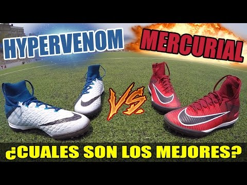 MERCURIALX Vs HYPERVENOMX / Review - Test - Unboxing ⚽️
