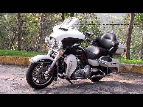 Harley Davidson Electra Glide Ultra Classic 2015 a prueba