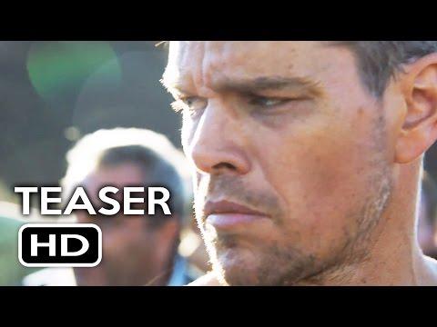 Jason Bourne Official Teaser Trailer