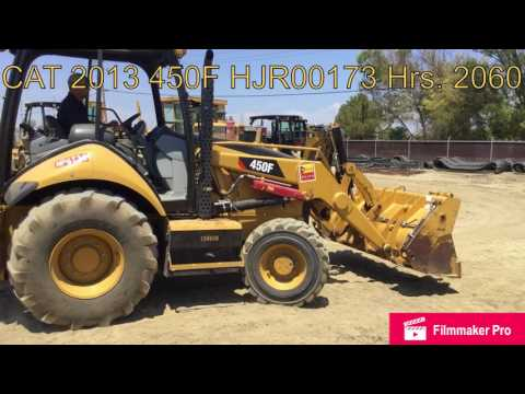 CATERPILLAR BACKHOE LOADERS 450F equipment video buU8pkhjFiQ