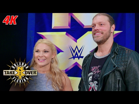 Beth Phoenix and Edge sit ringside at NXT TakeOver: Orlando: NXT Takeover 4K Exclusive, Apr. 1, 2017 (видео)