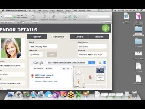 FileMaker Web Seminar: Idea to iPad - Event Management