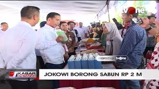 Video Presiden Jokowi Borong 100 Ribu Botol Sabun Senilai Rp2 Miliar MP3, 3GP, MP4, WEBM, AVI, FLV Januari 2019