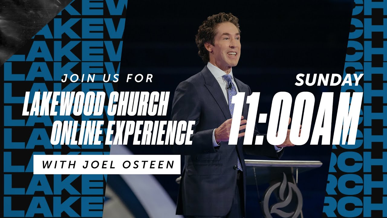 Joel Osteen Easter Sunday Live Service 12th April 2020 at Lakewood Church