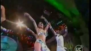 bailando axe bahia marzo en la Viña del año 2002