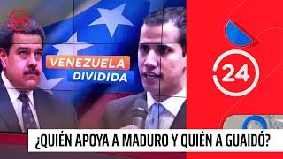 Venezuela divide al mundo: ¿Quién apoya a Maduro y quién a Guaidó?