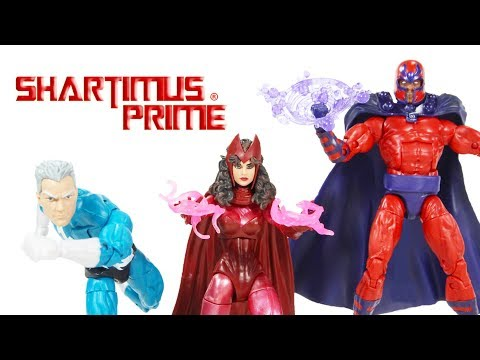 Marvel Legends X-Men Magneto, Scarlet Witch, Quicksilver Family Matters Amazon 3 Pack Figure Review