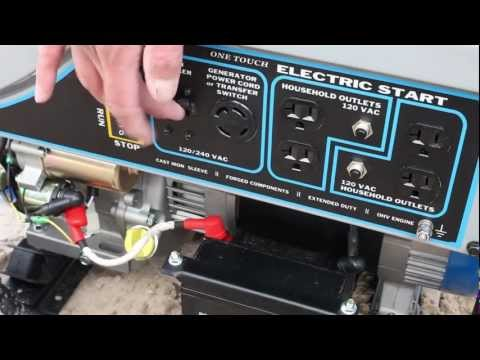 Westinghouse - How To Start Your Westinghouse Electric Start Portable Generator