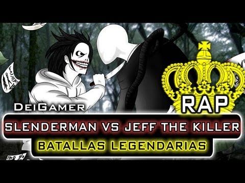SLENDERMAN VS JEFF THE KILLER | BATALLAS LEGENDARIAS RAP