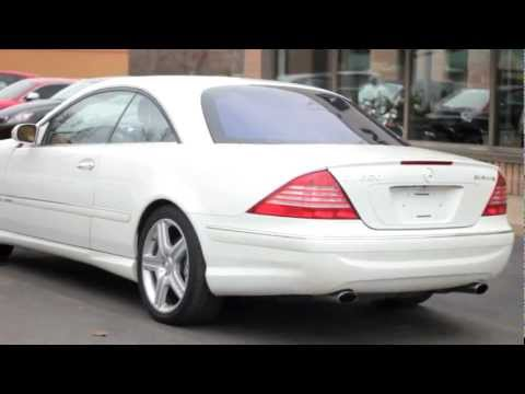 2003 Mercedes-Benz CL600 - Village Luxury Cars Toronto