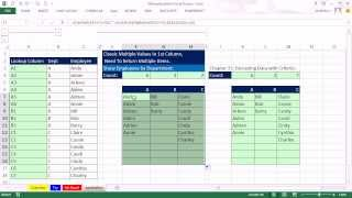 Mr Excel&excelisfun Trick 139: Formula To List Employees By Department