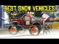 TOP 10 VEHICLES TO USE IN THE SNOW IN GTA ONLINE!