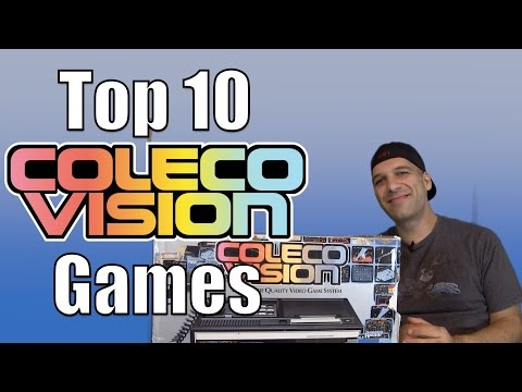 Top 10 ColecoVision Games - Gamester81