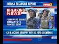 Followers submit affidavits to protect Dera; NewsX accesses list of weapons recovered from Dera HQ - Video