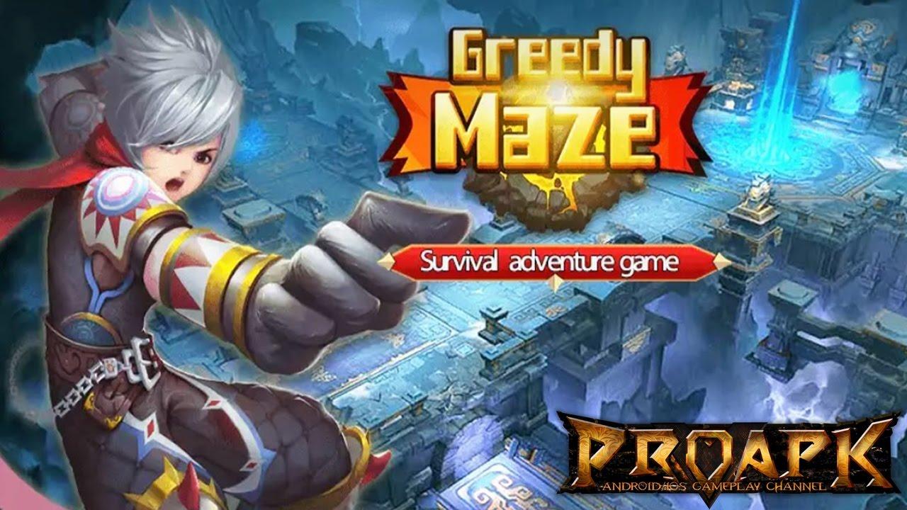 The Greedy Maze