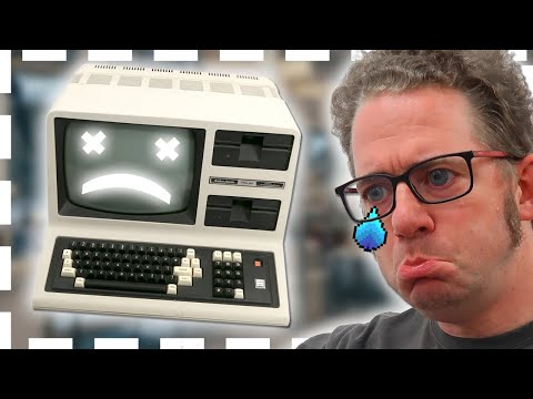 Tandy TRS-80 Model 4 Power on after 10 years and fails
