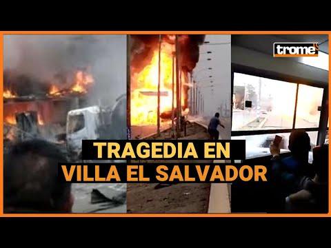 Video - Περού: Έκρηξη βυτιοφόρου στη Λίμα - Τουλάχιστον τέσσερις νεκροί και 49 τραυματίες - ΒΙΝΤΕΟ