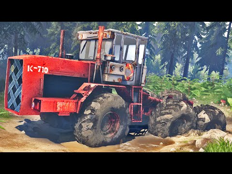 EXTREME TRATOR 6X6 OFF ROAD