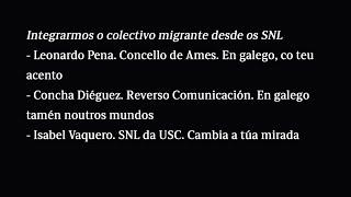Integrarmos o colectivo migrante desde os SNL
