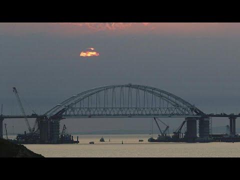 Νέες ευρωπαϊκές κυρώσεις για τη γέφυρα που συνδέει Ρωσία – Κριμαία…