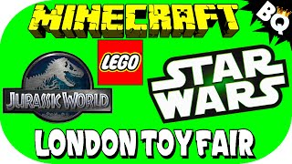 2015 LEGO Star Wars, Jurassic World, & Minecraft Set News from London Toy Fair