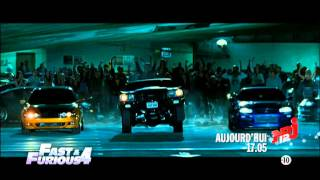 Nonton Fast and Furious 4 aujourd'hui 17h05 NRJ12  23 12 2014 Film Subtitle Indonesia Streaming Movie Download