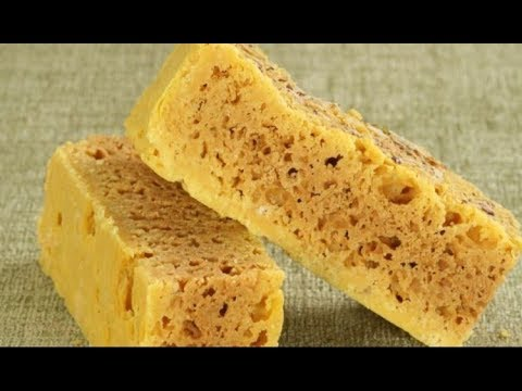 Mysore Pak Recipe In Hindi - Mysore Pak कैसे बनाये? - How To Make Mysore Pak In Hindi