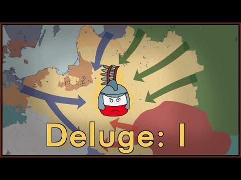 History of Poland: The Deluge I 1648-1655.