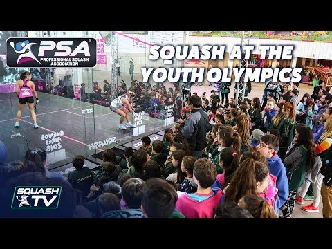 Squash at the Youth Olympics - Buenos Aires 2018