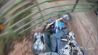 Epic Dirtbike Fail Compilation 2012
