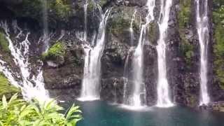 Cascade de rêve à La Réunion