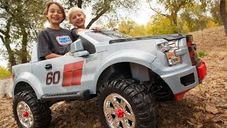7. Power Wheels Ford F150 Extreme Sport Unboxing - New 2015 Model!