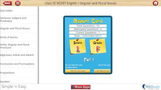 Class III NCERT English YouTube video