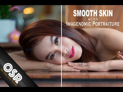 Photoshop Tutorial : How to Smooth Skin with Imagenomic Portraiture