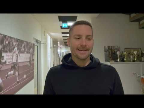 Axel Kjäll efter matchen mot Sirius