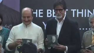 Amitabh Bachchan At Anupam Kher's Book Launch