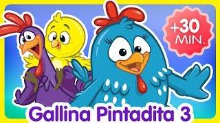 Video Compilado de Clips 30 min. - Oficial - Canciones infantiles de la Gallina Pintadita MP3, 3GP, MP4, WEBM, AVI, FLV Juli 2018
