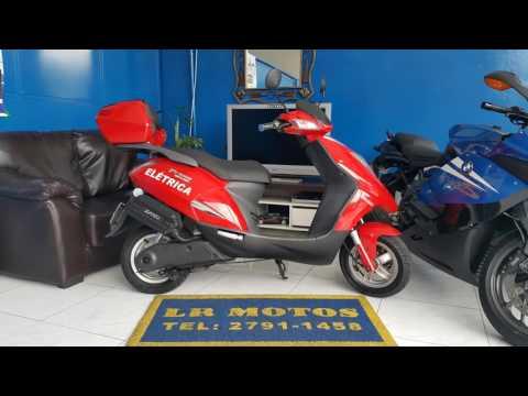 LR Motos - Revisão de Moto Concluida - Kasinski Prima Eletrica 2000 Vermelha - 3076