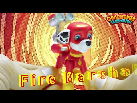 Paw Patrol Superheroes vs Romeo and his Evil Plan!