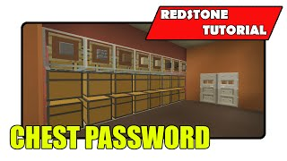 "Auto Storage System Add On [Chest Password] ""Redstone Tutorial"" (Minecraft Xbox/PlayStation/PS Vita)"