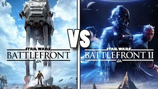 Battlefront (2015) vs Battlefront 2