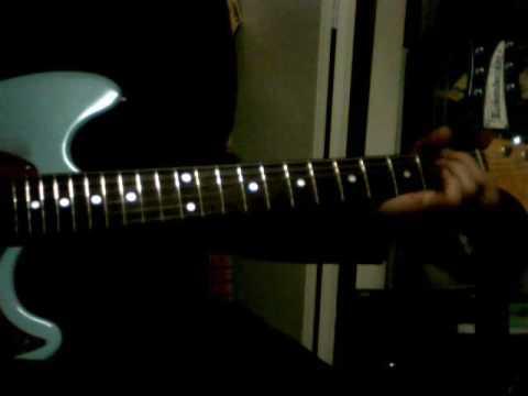 guitar chord demo Talking Heads/Found A Job