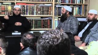 Pjesmarësi në projekt të Hajrit - Hoxhë Bekir Halimi dhe Hoxhë Lulzim Susuri